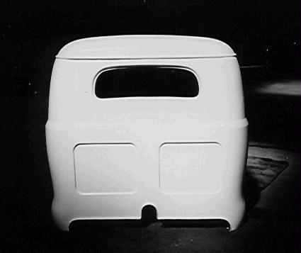 King Cab Pickup - Rear View (15K)